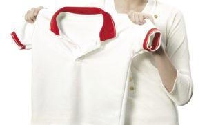 желтые подмышки на белой одежде