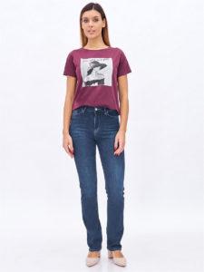 Топ 10  лучших женских темных узких джинсов