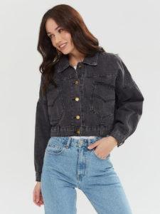 Топ 10 лучших черных женских джинсовых курток