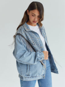 Топ 10 лучших джинсовых курток оверсайз