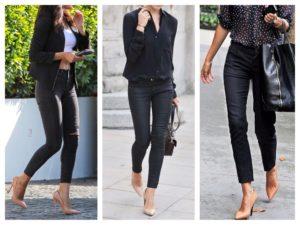 Топ 10 лучших женских черных узких джинсов