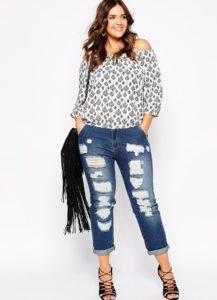 Топ 10 лучших женских джинсов больших размеров