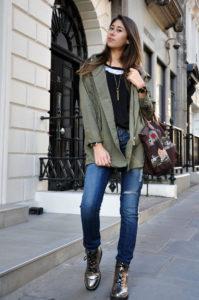 ботинки с джинсами