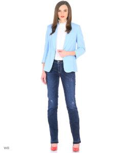 классический пиджак под джинсы