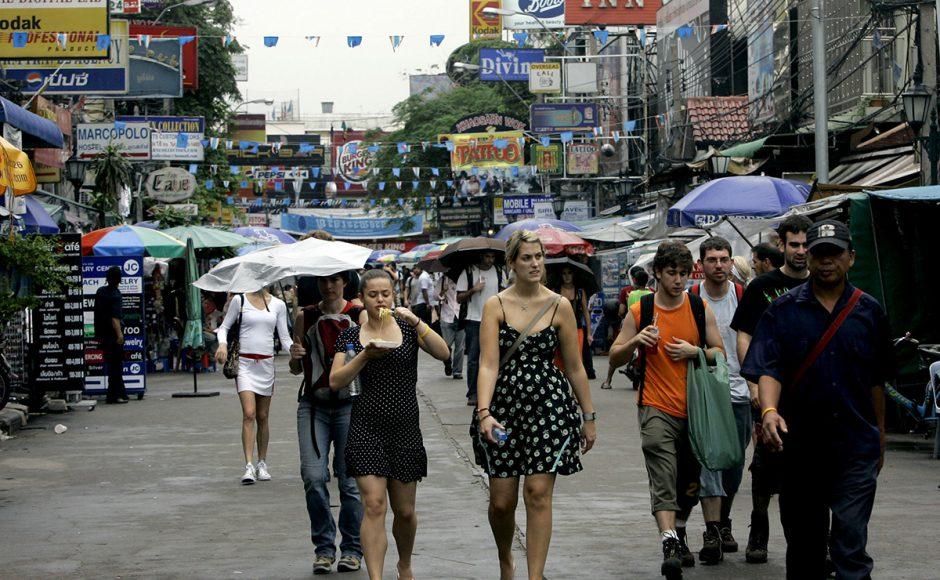 как одеваются туристы в таиланде фото заросли чубушника используют