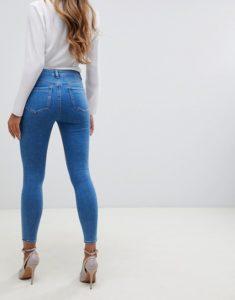 джинсы с завышенной талией женские