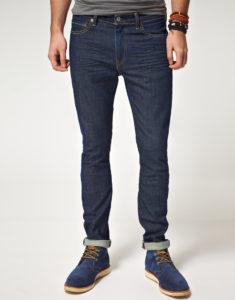 джинсы скинни мужские с ботинками