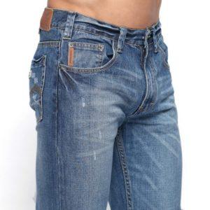 джинсы со средней посадкой