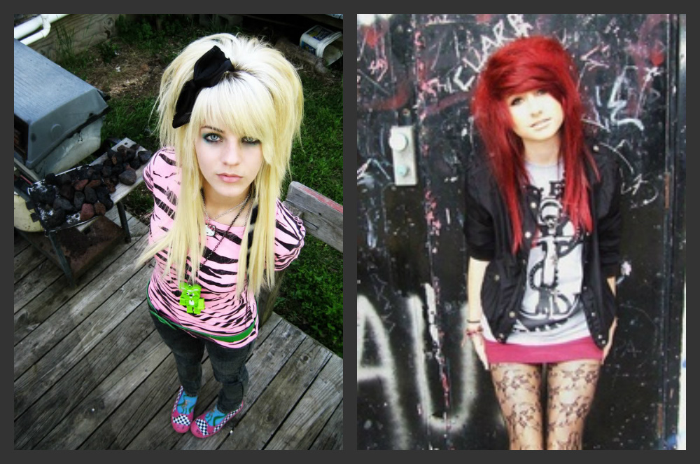 Emo teen fashion