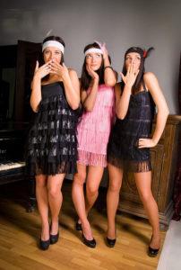 как одеться девушке для вечеринки в стиле чикаго