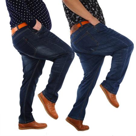 как выбрать джинсы для полных мужчин