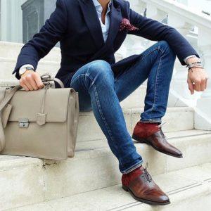 мужские туфли с острыми носками