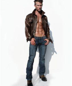 низкая посадка мужских джинсов