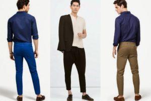 обувь под укороченные мужские джинсы