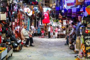 рынок вещей в турции