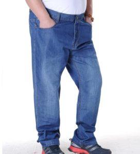Мужские джинсы больших размеров: особенности выбора и стильные сочетания