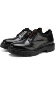 туфли на массивной подошве мужские