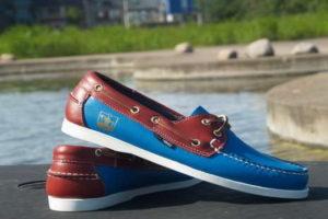 яхтенные туфли мужские