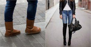 Джинсы с ботинками: стильные сочетания + 50 фото