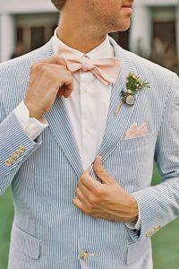 как выбрать красивый свадебный костюм жениху