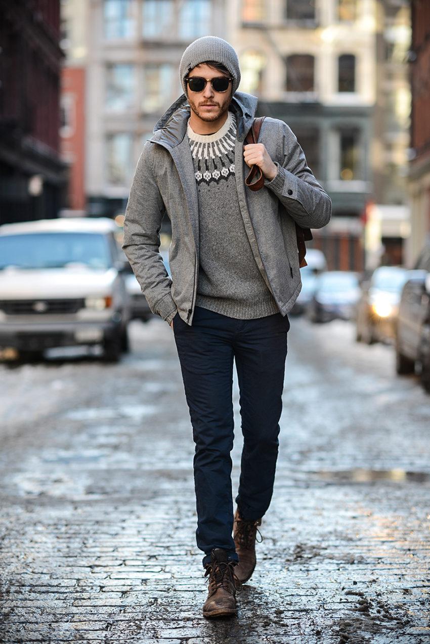 фото как модно одеться зимой мужчине переднеприводными модификациями