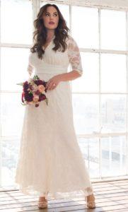 Свадебное платье на полную фигуру: фото стильных образов