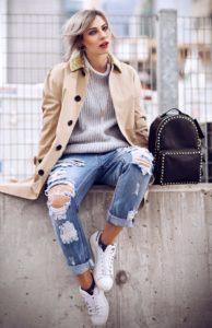 Повседневная одежда для девушек: стильные образы+ 60 фото