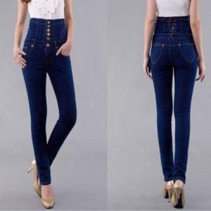 что надеть с высокими джинсами