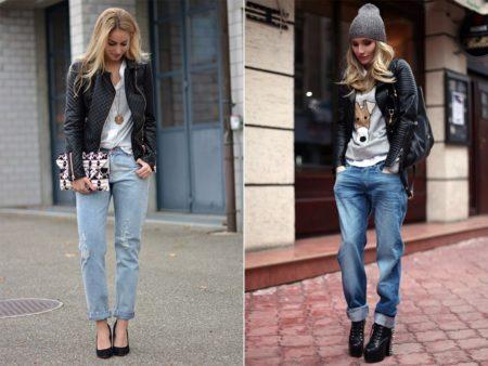 кому подходят джинсы бойфрэнды