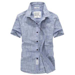 из какой ткани выбрать летнюю рубашку мужчине