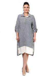 Стильные платья для полных девушек: фото модных образов