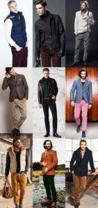 с чем носить мужские вельветовые брюки