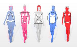 женские типы фигуры