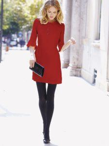 Ботинки под платье: правила выбора
