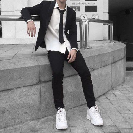 одежда для худых парней
