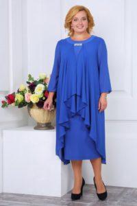 Платье для мамы невесты для полных женщин