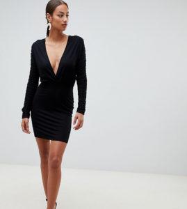 Черная одежда для девушек: модные луки с фото