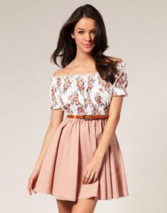 Вечерние короткие платья для девушек-примеры стильных образов