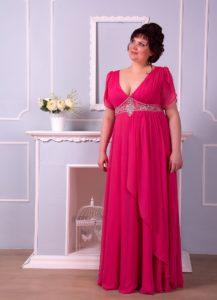 Платье для мамы невесты для полных женщин+фото