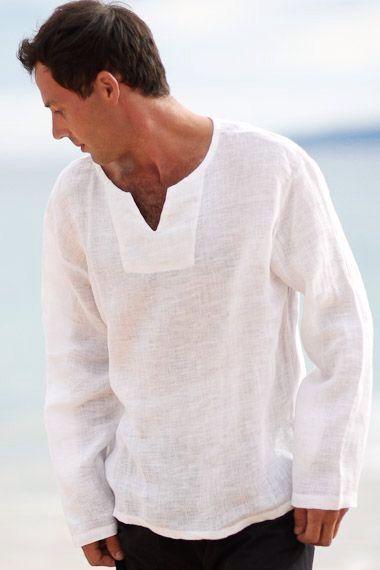 как выбрать мужскую льняную одежду