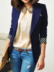 Офисный стиль одежды для девушек на лето и зиму +фото