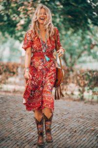 богемный стиль в одежде женщин после 40 лет