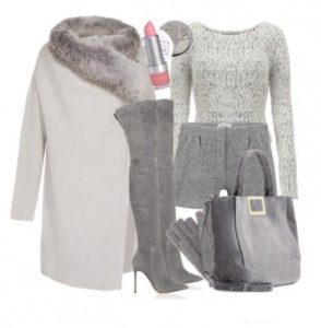 Базовый осенне зимний гардероб для девушки