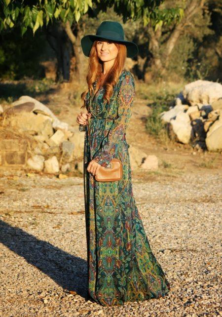 длинные платья макси