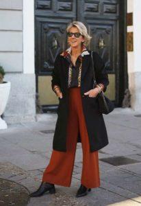 10 модных видов пальто для женщины 50 лет