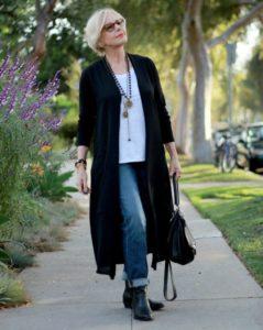 Как  стильно одеваться полной женщине в 50 лет+60 фото