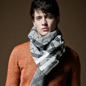 Модели мужских шарфов: описание, виды