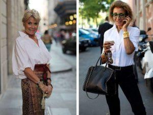 10 советов по стилю кэжуал для женщины 50 лет