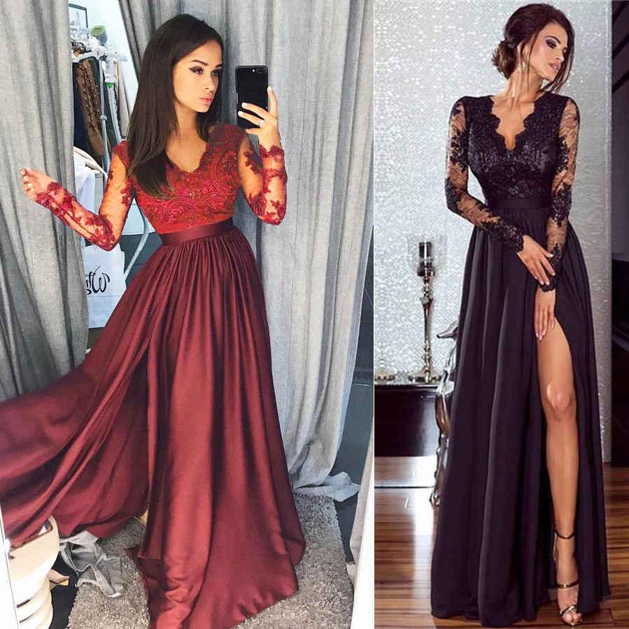 Длинные вечерние платья: как выбрать, модные фасоны и цвета+фото