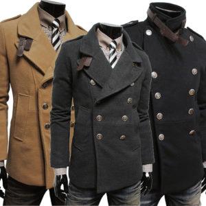 Мужское зимнее пальто-5 стильных моделей